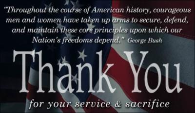 Veterans Day Myspace Comments